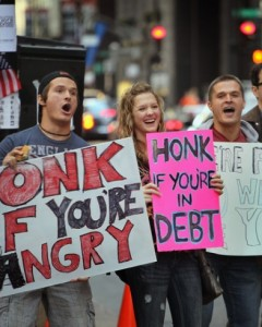 Protesters-in-chicago-jump-on-the-occupy-wall-street-bandwagon-which-has-spread-to-a-number-of