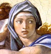 Delphic-Sibyl-Detail
