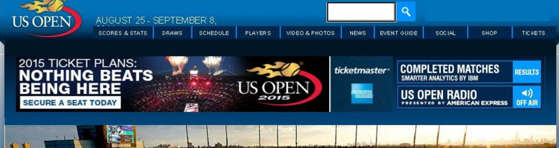 Official Site of the 2014 US Open Tennis Championships - A USTA Event - Offi