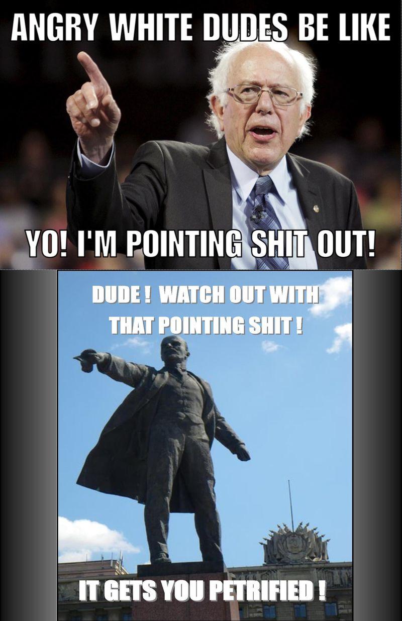 Bernie & Lenin